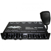 Wet Sounds WS-420 SQ - 4 Band Parametric Equaliser with 3 Zone Operation with Microphone