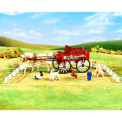 Breyer Stablemates Country Fair Waggon