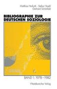 Bibliographie Zur Deutschen Soziologie [GER]