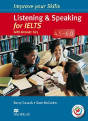 Improve Your Skills for IELTS 4.5-6 Listening & Speaking Student's Book with Key & Macmillan Practice Online