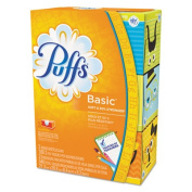 Facial Tissue, 2-Ply, White, 8.2 x 8.4, 180 Sheets/Box, 3/Pack