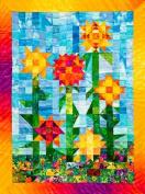 Sunflower Garden Quilt Pattern By Joen Wolfrom