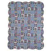 Patch Magic Demin Double Wedding Ring Quilt