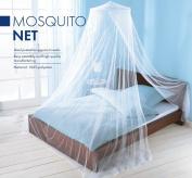Elegant Mosquito Net Bed Canopy Set - White