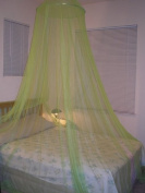 Octorose ® Lime Green Hoop Bed Canopy Mosquito Net Fit Crib, Twin, Full, Queen, King