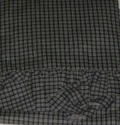 Kwitman Navy Blue Mini Plaid Euro Pillowcase Sham Pillow Case