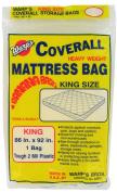Warp Brothers CB-86 Mattress Storage Bag, King, Clear Plastic, 220cm x 230cm .
