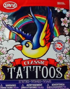 Temporary Tattoos ~ Classic ~ Savvi ~ 50+ ~ Ed Hardy Style Tattoos