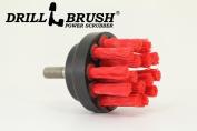 Small Diameter Heavy Duty Stiff Nylon Scrub Brush