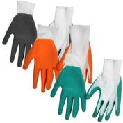 Latex Palm Textured-grip Knit Gloves