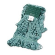 UNISAN Super Loop Wet Mop Head, Cotton/Synthetic, Medium Size, Green (502GN) Personal Healthcare / Health Care