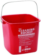 Cleaning Bucket, 2.8l, Red Sanitising Solution