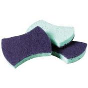 NEW - Power Sponge, Teal, 2 7/8 x 4 1/2, 5/Pack - 3000CC