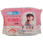 PURE WATER Messy times wipes - 240ct.