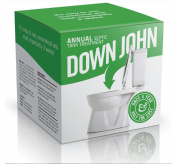 DOWN JOHN Septic Tank & Leach Field Treatment, 1 Year Supply, All Natural