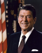 President Ronald Reagan - Official photograph portrait - 8x10 Glossy Photo