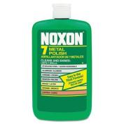 Reckitt Benckiser Noxon 7 Metal Polish, Liquid, 350ml Bottle - 12 350ml bottles per case.