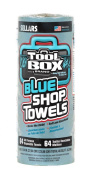 Sellars 54400 ToolBox Z400 Shop Recycled Disposable Towel, 28cm Length x 24cm Width, Blue