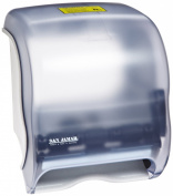 San Jamar T950 Classic Element Roll Towel Dispenser, Fits 20cm Wide and 20cm Diameter Roll, 30cm - 1.3cm Width x 30cm - 1.9cm Height x 20cm - 1.3cm Depth, Arctic Blue