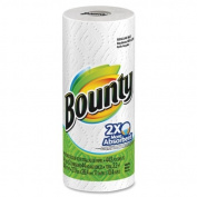 Bounty Paper Towel - 2 Ply - 44 Sheets/Roll - 30 / Carton - White