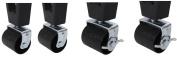 Kings Brand Heavy Duty Caster Wheels For Bed Frame ~Set Of 4~