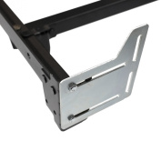 STRUCTURES by Malouf® Queen Bed Frame Headboard Bracket Modification Plate Modi, Set of 2
