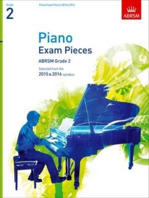 Piano Exam Pieces 2015 & 2016, Grade 2: Selected from the 2015 & 2016 syllabus (ABRSM Exam Pieces)