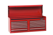 Stanley Proto J445419-12RD 440SS 140cm Top Chest, 12 Drawer, Red