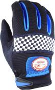 BKG - Busted Knuckle Garage BKG001 44001 Speed Mechanics Royal Black Medium Glove