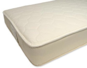 Naturepedic MT45XL Twin 2 in 1 Ultra Quilted Mattress WITH MT40XLB Foundation