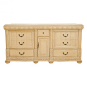 B & I Direct Imports 1310CL Caroline Vanity Cabinet
