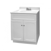 Foremost HEW2418-PP Heartland 60cm White Pro Pack Vanity Combo