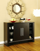 Enitial Lab Studio Buffet with Wine Holder, Cappuccino