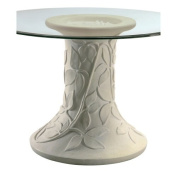 Bailey Street 6042910 South Coast - 70cm Dining Table Base, Mellow Beige/Ochre And Brown Finish with Fibre Glass