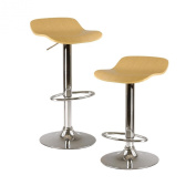 2 Winsome Kallie Air Lift Adjustable Chairs