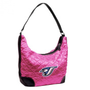 MLB Pink Quilted Hobo