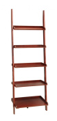 Convenience Concepts 8043391 French Country Bookshelf Ladder, Dark Cherry