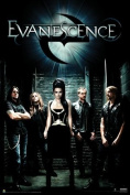 Evanescence Group Music Poster Print