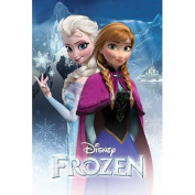 Frozen Anna and Elsa Movie Poster