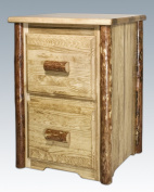 Montana Woodworks Glacier Country 2-Drawer File Cabinet