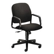 New - Solutions Seating High-Back Swivel/Tilt Chair, Black by HON