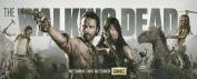 The Walking Dead Season 4 3 2 1 Nice Silk Fabric Cloth Wall Poster Print