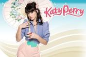 Katy Perry Nice Silk Fabric Cloth Wall Poster Print