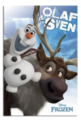 Frozen Olaf And Sven Poster - 91.5 x 61cms