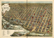 Historic Panoramic Map Reprint