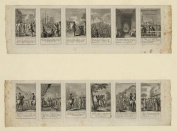 Photo Reprint Scenes from events and battles leading up to and during the American Revolution, 1775-1783,