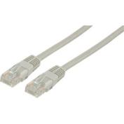 Unshielded RJ45 CAT 5e network cable 1.00 m grey