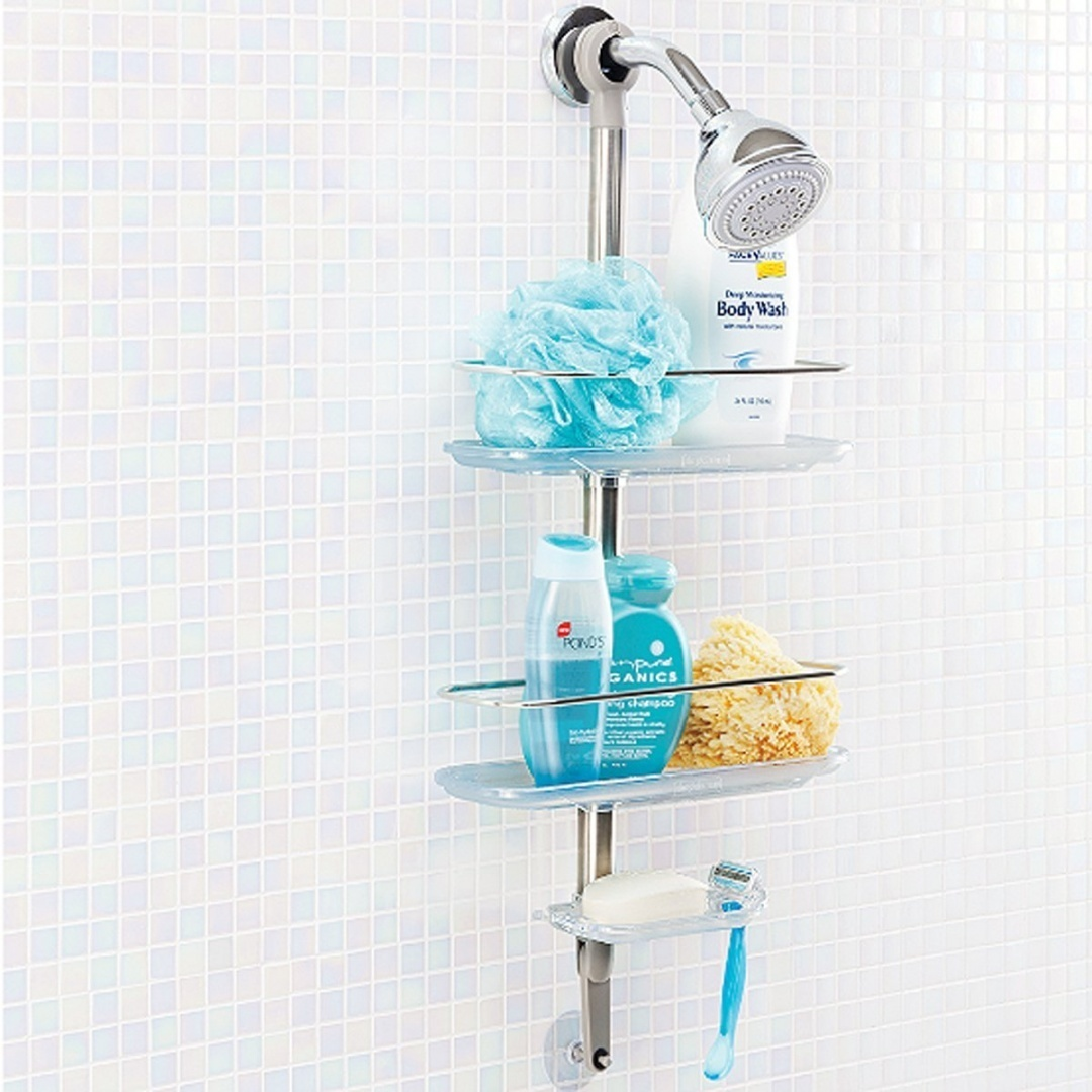 Simple Stainless Steel Shower Caddy by AytraHome - Shop Online for ...