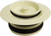 Monogram Brass MBX132957 High Impact Plastic Disposal Stopper, Biscuit