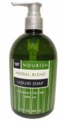 Trader Joe's Nourish Herbal Blend Lemongrass & Clary Sage Liquid Soap